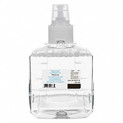 Foam Soap Refill, Size 1200mL, Clear, PK 2