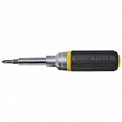Multi-Bit Screwdriver, 9-in-1, Ratchet, 7Pc