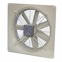 Exhaust Fan, 115V, 624 CFM, 10 In
