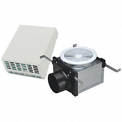 Wall Exhaust Fan, 4 In Duct, 112 CFM