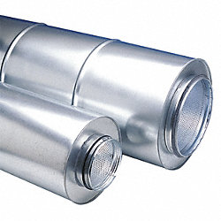 Duct Silencer, 6 In. Dia.