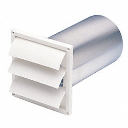 Louvered Shutter, 6 In Duct
