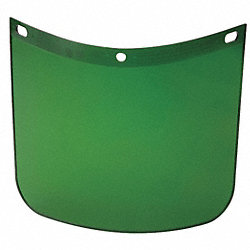Faceshield Window, Propionate, Dk Green