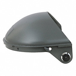Faceshield Headgear, For Hard Hat, Plastic