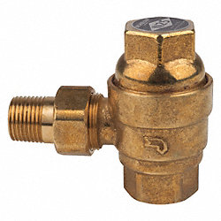 Steam Valve, Size 3/4 In., Threaded