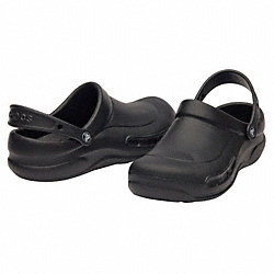 Slip-On Shoes w/Strap, Black, Mens 14, PR