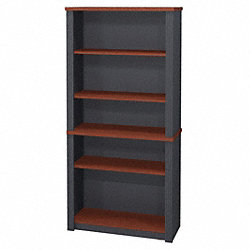 Modular Bookcase, Bordeaux/Graphite