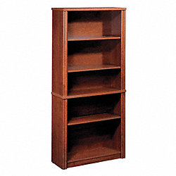 Modular Bookcase, Tuscany Brown