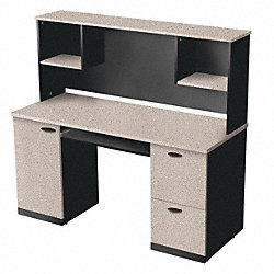 Workstation, Sand Granite/Charcoal