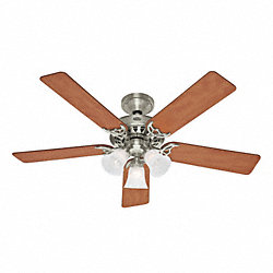 Decorative Ceiling Fan, Maple/Chestnut