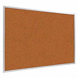 Bulletin Board, Splash Cork, Red , 2x3
