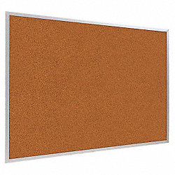 Bulletin Board, Splash Cork, Red , 4x4
