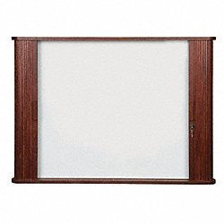Enclosed Magnetic Dry Erase Board