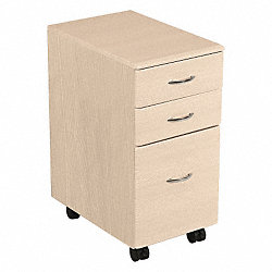 File Cabinet, 3 Drawer, Teak