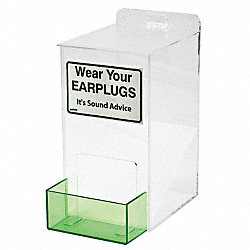 Ear Plug Dispenser, Univ, Holds 100-150 PR