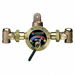 HD Mixing Valve, Chrome, 3/4 x 1 In