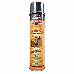 Fireblock Foam Sealant, Straw, 12 oz, PK12