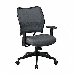Office Chair, Fabric, Charcoal Vera Flex