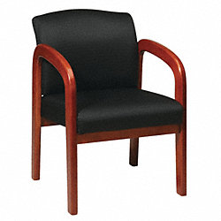Visitor Chair, Black, Oak