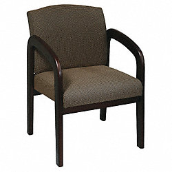 Visitor Chair, Taupe, Espresso