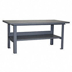 4, 000lb Cap Work Table 36D x 72W
