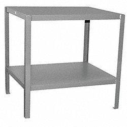 Work Stand 2 Shelves 24D x 72W