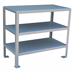 Work Stand 3 Shelves 30D x 36W