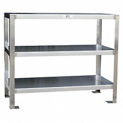 Work Stand, 3 Shelf, 36Wx18Dx32H
