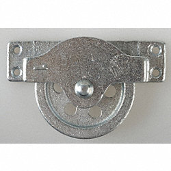 Pulley Block, OD 4-1/2 In., ID 3-11/32 In.