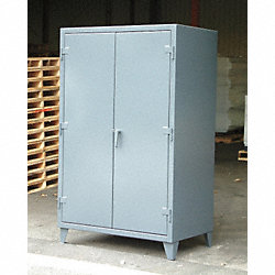 Storage Cabinet, 66x36x30, Dark Gray