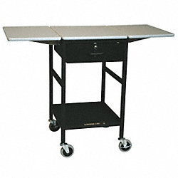 Ergonomic Mobile Work Table, 18 In. L