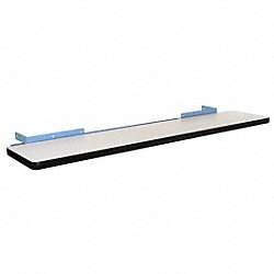 Cantilever Shelf, 60 W x 12 D x 2 H, Blue