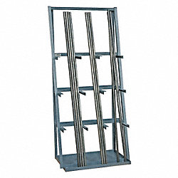 Single Sided Vertical Bar Rack, 84In H