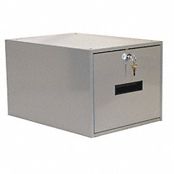 Drawer, 15 W x 19-1/4 D x 12 in. H, Gray