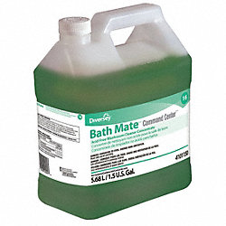 Bathroom Cleaner, Green, Fresh, PK 2