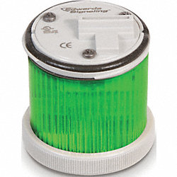 Stacklight Warning Light 48mm, LED, Green