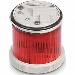 Stacklight Warning Light 48mm, LED, Red
