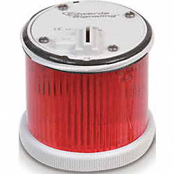 Stacklight Warning Light 70mm, LED, Red