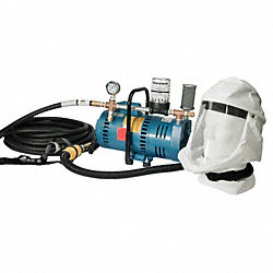 Supplied Air Pump Package, 1 Ppl, 3/4 HP