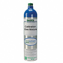 Calibration Gas, 116L, Quad Mix