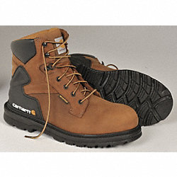 Boots, Steel Toe, Waterprf, 6In, 10.5M, PR
