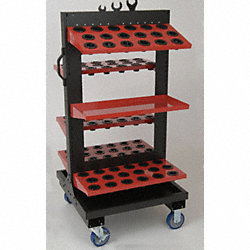 Tool Cart, Tree, HSK 100A Tools, 50 Pc