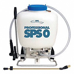 Backpack Sprayer, HDPE, 4 gal.