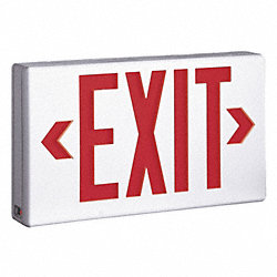 Exit Sign, 1.0W, Red/Green, 1 or 2