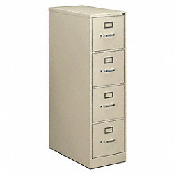 Vertical File, 15 In.W, Putty