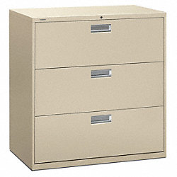 Lateral File, 42 In.W, Putty