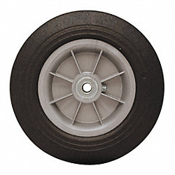 Tubeless Wheel, 10 In, 550 lb