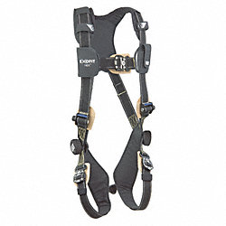 Full Body Harness, L, 420 lb., Black