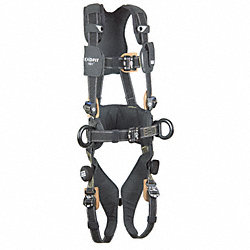 Full Body Harness, S, 420 lb., Black