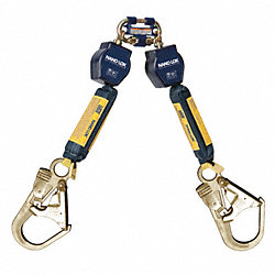 Self-Retracting Lifeline, 6ft, Nylon, 420lb